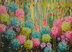 Flower Candy - Large painting, Painting, Oil on Canvas