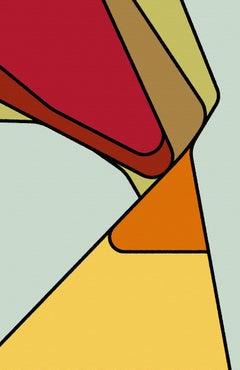 john T (-onymous series), Painting, Acrylic on Canvas