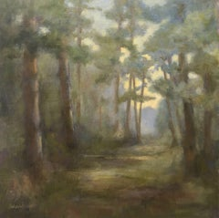 The Tall Pines, Painting, Oil on Other