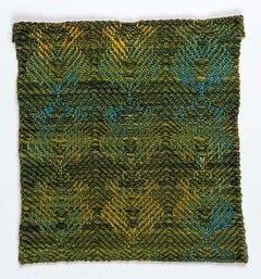 Wilma: Earth & Dignity, Worsted Merino with Acrylic Yarn hand dyed, woven