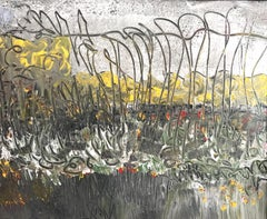 Mended Fences, Painting, Acrylic on Canvas