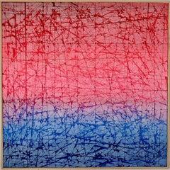 Sodium light, Mixed Media on Canvas
