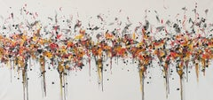 Drips 5  by M.Y., Painting, Acrylic on Canvas