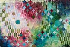 Sparkle, Painting, Acrylic on Wood Panel