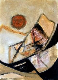 Landscape, Painting, Oil on Paper