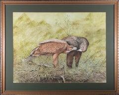 S. Goodchild - Contemporary Watercolour, Majestic Eagles