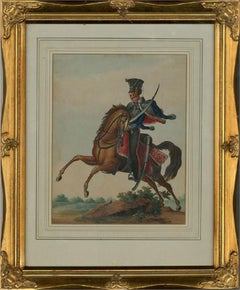 Early 19th Century Watercolour - Imperial Russian Army General