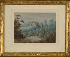 Early 19th Century Watercolour - Castle Lodge, Farleigh House
