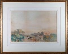 James Vivien de Fleury (1847-1902) - Late 19thC Watercolour, The Adige, Tyrol