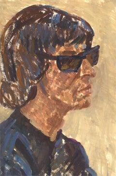Joyce Moore - Contemporary Gouache, Sunglasses