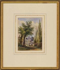 1863 Watercolour - View of Hampton