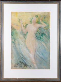 Elsie March (1884–1974) - Mid 20th Century Watercolour, Dancing Nymph