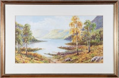 G. Hayes - Signed & Framed Mid 20th Century Watercolour, Autumnal Views