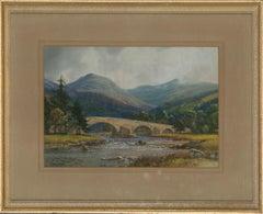G. Trevor - Signed & Framed Mid 20th Century Gouache, Old Bridge of Dee