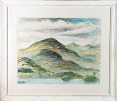 Emmanuel Levy (1900-1986) - Mid 20th Century Watercolour, Mountain Landscape