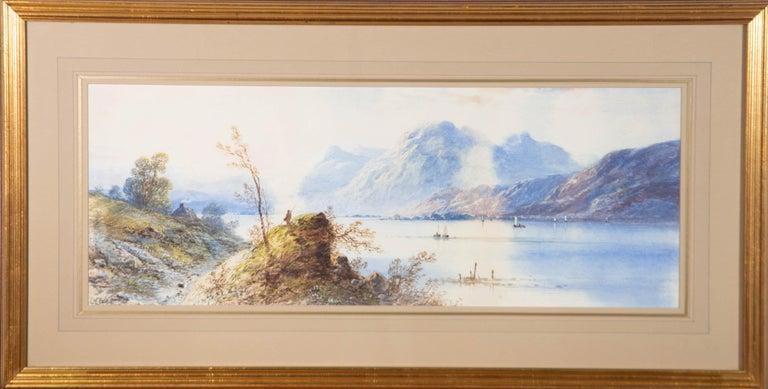 Edwin Earp (1851-1945) - Early 20th Century Watercolour, Misty Foothills - Art by Edwin Earp