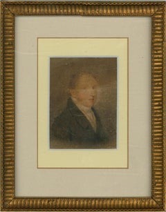 Adam Buck (1759–1833) - 1822 Watercolour, Fashionable Georgian Gentleman