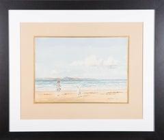 John Cochran (fl.1929) - Signed Early 20th Century Watercolour, At the Beach