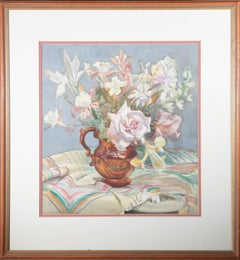 A. Dorothy Cohen (1887-1960) - Mid 20th Century Watercolour, Flower Vase