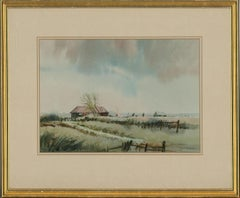 Keith Johnson - 20th Century Watercolour, Day at the Farm