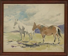 Attrib. John Murray Thomson (1885-1974) - Early 20th Century Watercolour, Horse
