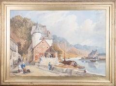 Framed Early 20th Century Watercolour - Church Bay