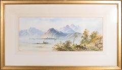 Edwin Earp (1851-1945) - Early 20th Century Watercolour, Loch Lomond