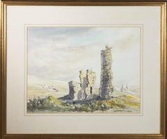 Derek Watson - 20th Century Watercolour, Ruins