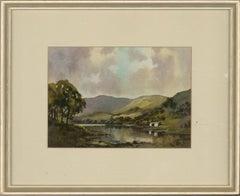 Ebenezer J.W. Prior (1914-1988) - 20th Century Watercolour, Rydal Water