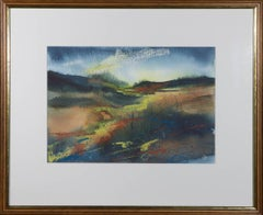 G.B. - Contemporary Watercolour, Abstracted Fields II