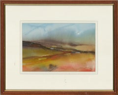 G.B. - Contemporary Watercolour, Abstracted Fields