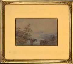 Copley Fielding (1787-1855) - Early 19th Century Watercolour, River Scene