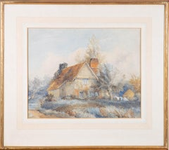 Frederick Brett Russel (1813-1869) - Mid 19th Century Watercolour, The Cottage