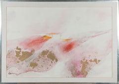Martin Aynscomb-Harris (b.1937) - Contemporary Gouache, Abstract Landscape