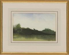 Martin Caulkin RI (b.1945) - Signed 20th Century Watercolour, Late August