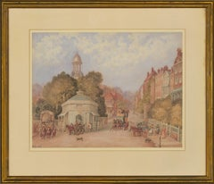 W. Hinchliff - Signed Early 20th Century Watercolour, Kennington Turnpike