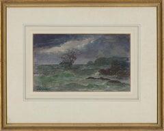 William Howard Yorke IOM (1847-1921) - Early 20th Century Watercolour, Seascape