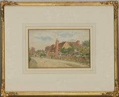 Thomas Nicholson Tyndale (1860-1930) - Watercolour, Milton Cottage