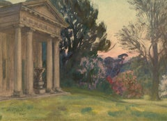 Arthur John Black (1855-1936) - 20th Century Watercolour, View at Kew