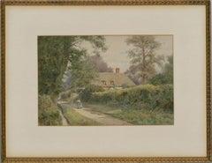 Thomas Nicholson Tyndale (1860-1930) - 20th Century Watercolour, Clifden Hampden