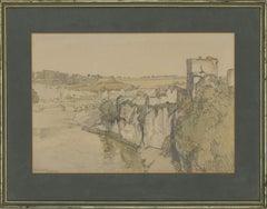 Samuel John Lamorna Birch (1869-1955) - Signed 1916 Watercolour, Chepstow