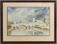 John Chisnall (b.1943) - 20th Century Watercolour, Aylesford, Kent