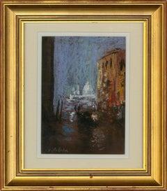 Charles Pelletier (1922-2005) - 20th Century Pastel, Venice