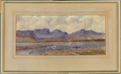 Framed 20th Century Watercolour - Scottish Loch