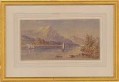 John Charles Moody (1884-1962) - Early 20th Century Watercolour, Mountain View