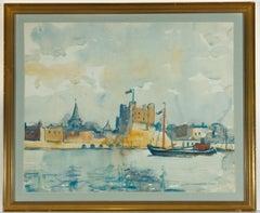 Jean Dryden Alexander (1911-1994) - Signed Watercolour, Rochester Castle