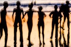 Dark Materials IX - James Sparshatt - A photograph of joy on the beach