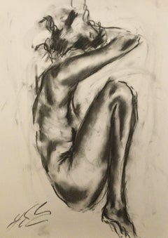 Freedom, Drawing, Charcoal on Paper