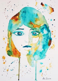 Love struggles, Painting, Watercolor on Watercolor Paper