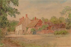 Thomas N. Tyndale (1860-1930) - Late 19th Century Watercolour, Country Cottages